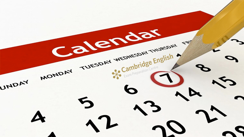 Calendario Cambridge